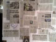 Image of news collage